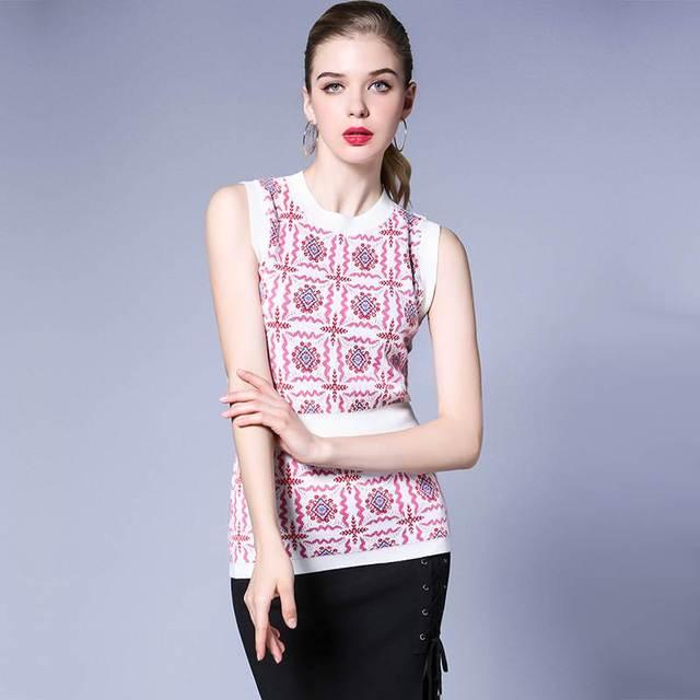 Женщины базовая топы тис трикотажные цветок эластичный розовый цвет