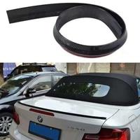 for BMW E46 E60 E90 F10 E92 F30 fake Carbon Fiber Rear Trunk lip Spoiler Wing