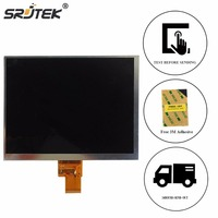 Srjtek 8 For Ritmix RMD 855 / Ross&Moor RMD 878G / Texet TM 8041 LCD Display 40 pin 174*135mm Tablet Screen Replacement Parts