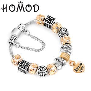 70f6a1819 ... inexpensive homod 2018 style plated charm bracelet bracelets for women  f64a8 ffa50