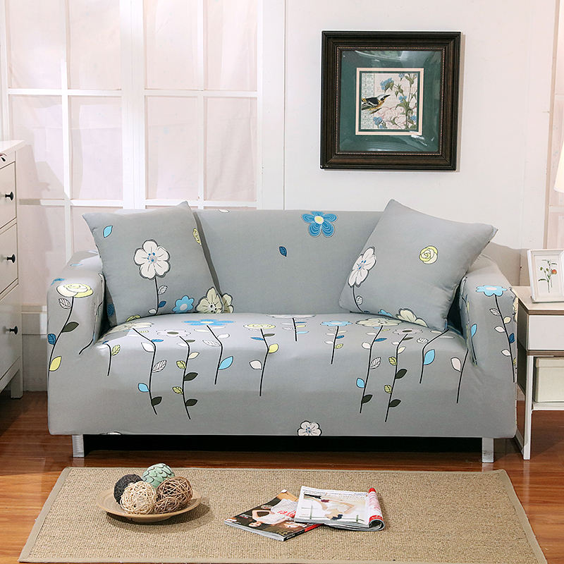 Pastoral Fashion House Sofa Cover Elastic Soft Lasticity Slip-resistant Elastic Cubre Cases For Sofa Couch Cover Set ...
