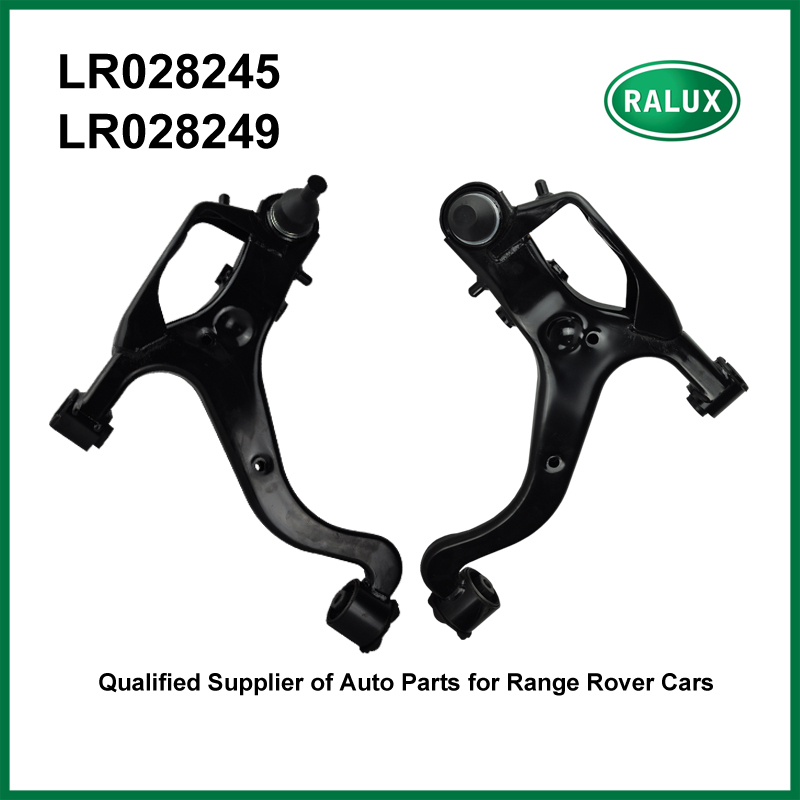 Droit + gauche suspension avant bras de commande pour Découverte 3 2005-2009 voiture suspension bras de rechange pièces fournisseur LR028245 LR028249