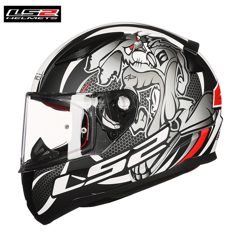 LS2 FF353 Rapid Motorcycle Helmet 2018 New Full Face Helmets Motorbike Kask Helm Cascos Moto Equipments original ls2 ff353 full face motorcycle helmet high quality abs moto casque ls2 rapid street racing helmets ece approved