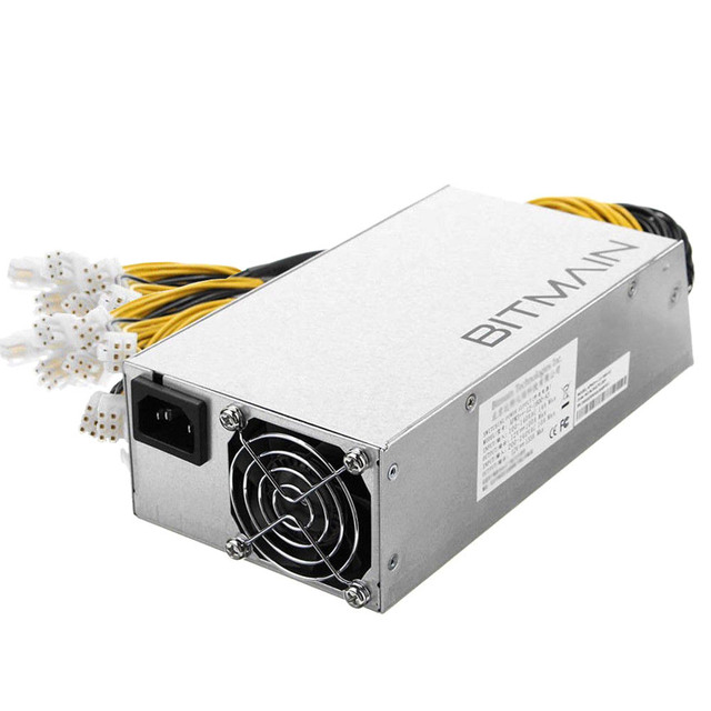 Miner Antminer Power Supply APW3++ 1200W 110v 1600W 220v with 18 Support 2 L3+ 18 PCI QJY99