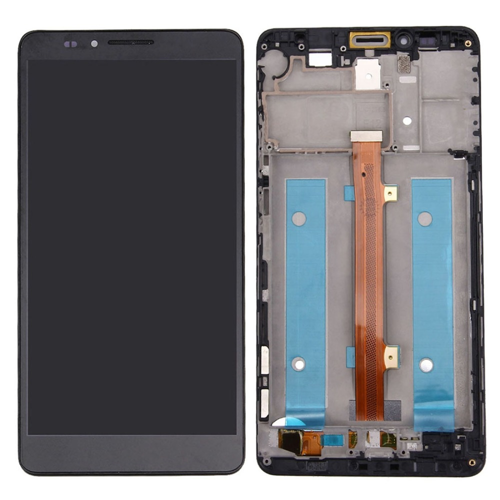 H New for Huawei Mate 7 LCD Screen and Digitizer Full Assembly with Frame