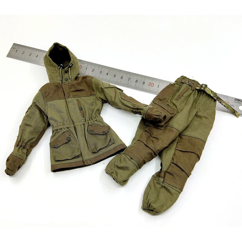 1 6 Scale 78059 Russian Spetsnaz MVD Mountain Tactical Combat Coat and Pants Set Accessories for