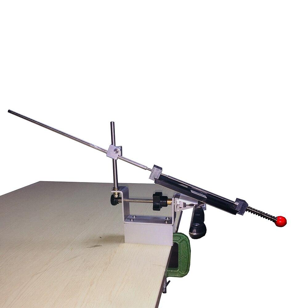 KME couteau aiguiseur Professionnel Grinder pour affûtage couteau Portable 360 Degrés de Rotation Fixe angle Apex bord couteau aiguiseur
