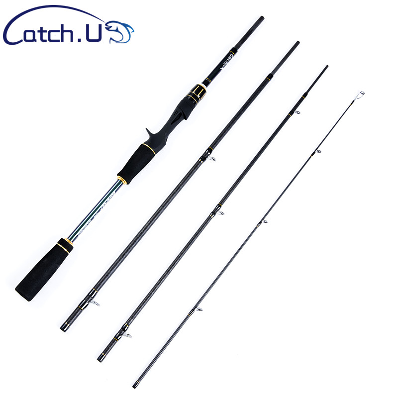 Able Catch.u Carbon Fiber Casting Fishing Rods Spinning 1.1mm 10-30g Fishing Pole Spinning Fishing Rod Fast Action Promoting Health And Curing Diseases