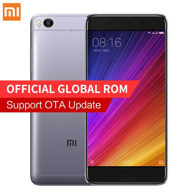 """Lowest Price!Original Xiaomi Mi5s Mi 5S 3GB RAM 64GB ROM Snapdragon 821 Quad Core 5.15""""Inch 1920x1080P MIUI 8 Mobile Phone"""