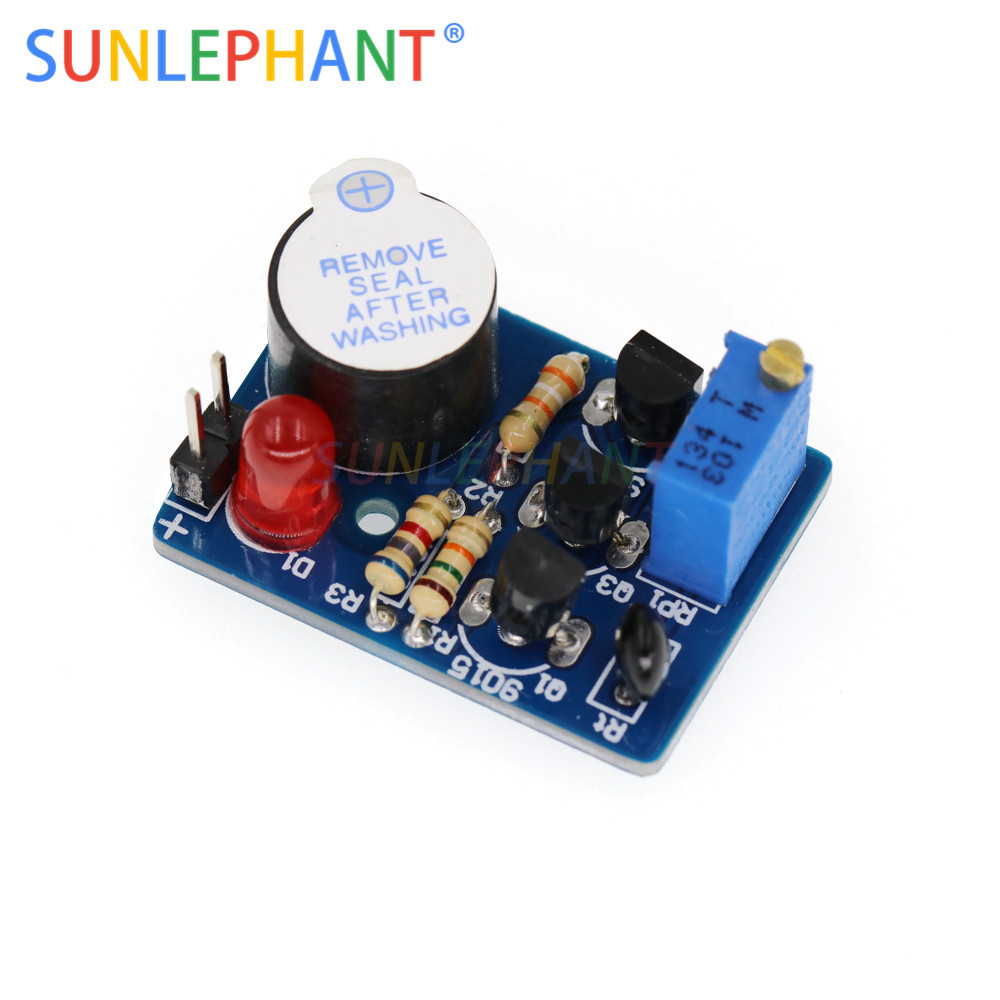 DIY Kit Temperature Alarm Electronic Temperature Controller Sound Light Alarm Su