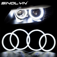 SMD LED Angel Eyes DRL Halo Rings Kit For BMW 3 Series E92 E93 M3 Coupe 07 11 Headlights Retrofit Style White Color 7000K Lamps