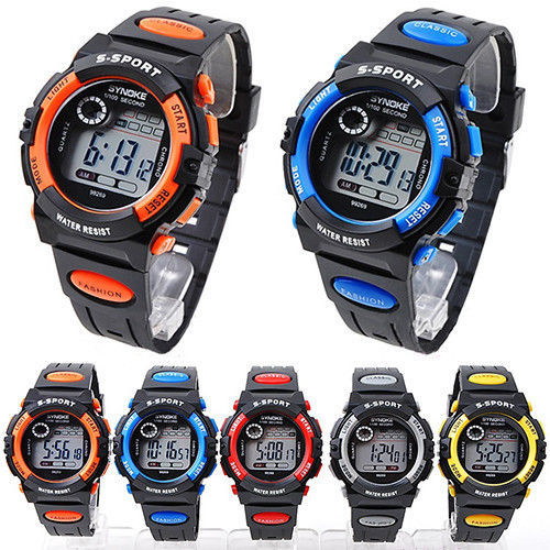 Best Kids digital watches boys girl New 2014 Whatch Men ...