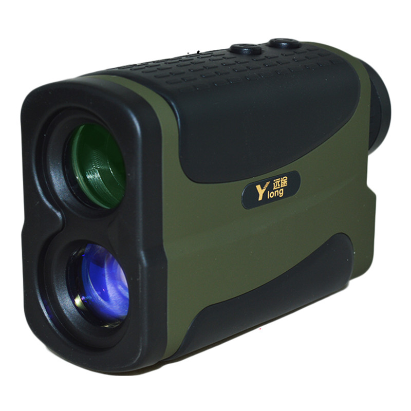 Rapid response ! 500m waterproof hand-held laser range finder golf laser range telescope with speed mode flagpole lock