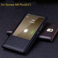 Luxury Original Brand Genuine Crocodile Leather Flip Cases For Gionee M6 Plus Fashion Phone Bags For GioNee M6 Plus Open Window