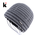 2017 Winter Hats Beanies For Men Gorro Beanie Fringe Designer Plus Velvet Hat Knitted Caps Bonnet Mens Skullies Touca Inverno