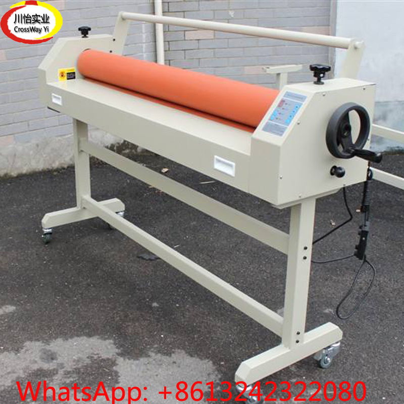 Electronic Cold Laminator 1.6m for Signs Photo Laminating cewaal new design a4 photo laminator document hot