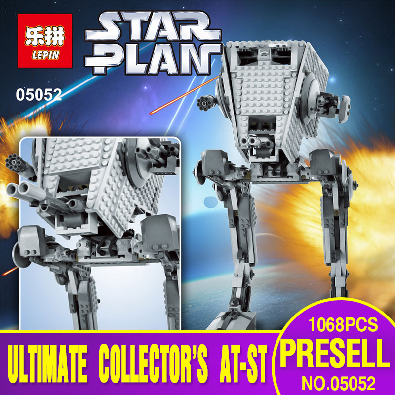 font b Lepin b font 05052 New Star War Series The Empire AT ST Robot