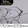 Armações de óculos de olho para homens moda marca dual-feixe de óculos de miopia 8289 negócios pure titanium armações frame ótico