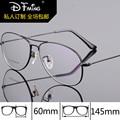 Eye glasses frames for men fashion brand dual-beam glasses myopia 8289 business pure titanium frames optical frame