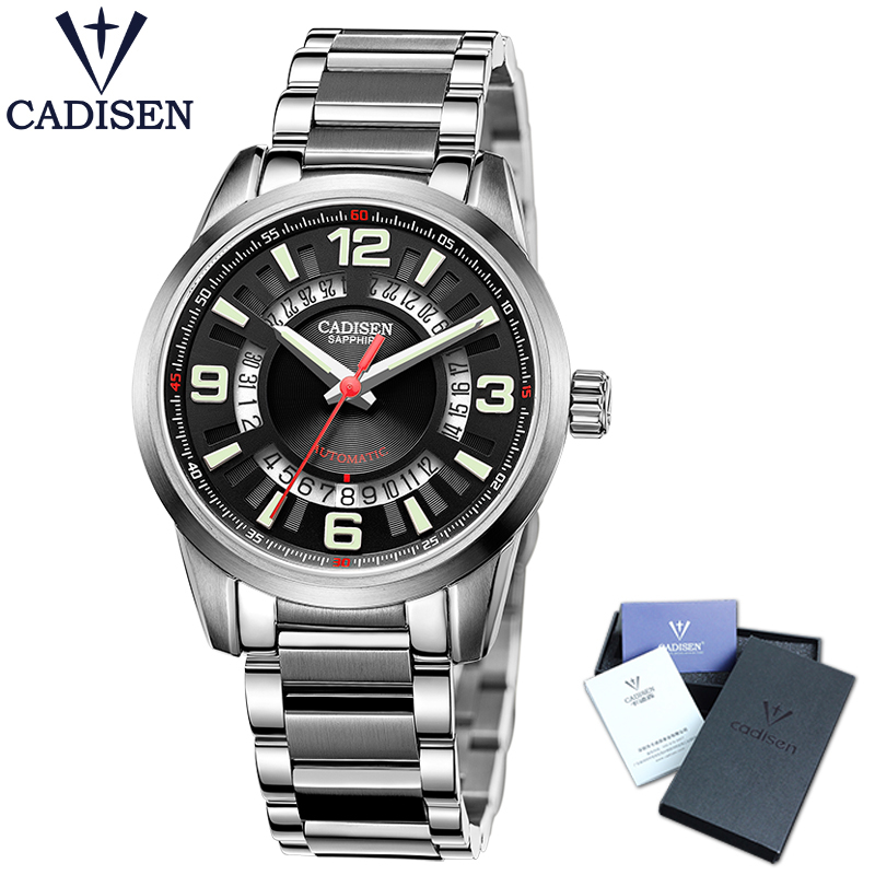 Watches Men Cadisen Brand Full Steel Classic Fashion Army Military Watches Men S Automatic Sports Wrist