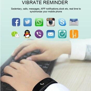 0.96Inch OLED Screen Smart Bracelet Support ECG+PPG Blood Pressure Heart rate Monitoring Pedometer Sport Fitness Bracelet