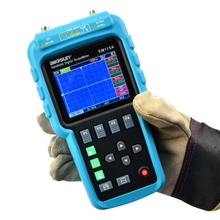 EM115A 50 МГц 200MSa/S 3в1 Профессиональный портативный цифровой осциллограф+ мультиметр+ генератор сигналов USB цветной ЖК-дисплей