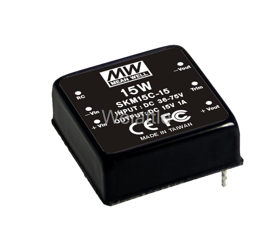 [Cheneng]MEAN WELL original SKM15B-15 15V 1000mA meanwell SKM15 15V 15W DC-DC Regulated Single Output Converter armenian theory of relativity articles