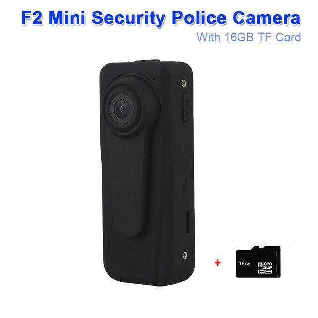 Mini Pocket Body Police Camera Security Camera 1920x1080 30fps Video Audio Recording Motion Detection HD DVR Camera W/TF Card