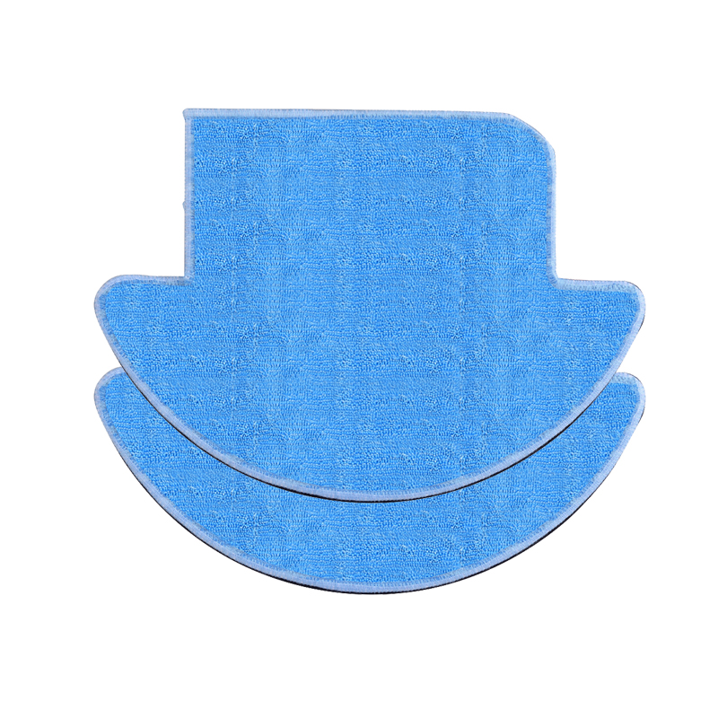 2pcs Vacuum Cleaner Mop Cloth Replacement for ILIFE V7s Pro V7s Robot Vacuum Cleaner Parts Accessories Cleaning Mop Pad for kk8 front wheel for vacuum cleaning robot 2pcs pack