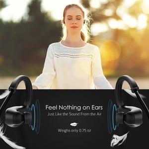 Image 4 - Mpow MBH6 Cheetah 4.1 Bluetooth Headset Sports Headphones Wireless Headphone Microphone Sport Earphone For iPhone Xs Max Samsung