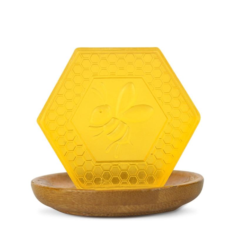 Seife 1 Stücke Multifunktions Honig Handgemachte Seife Reinigung Dusche Feuchtigkeitsspendende Haut Care Handgemachte Seife Professionelle Honig Seife
