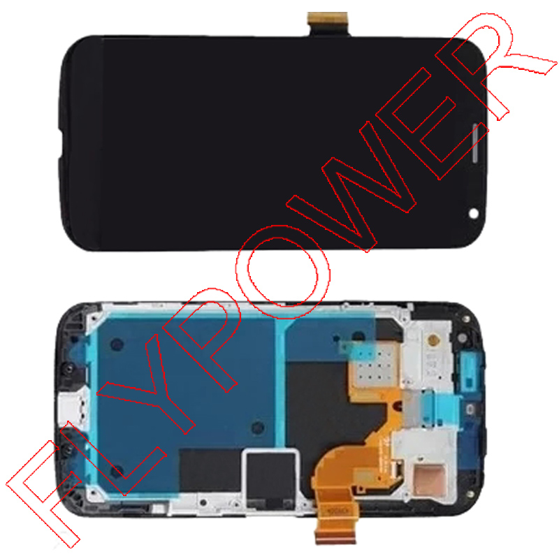 ФОТО for Motorola Moto X XT1060 XT1058 LCD Screen display with touch Digitizer + frame by Free Shipping; black