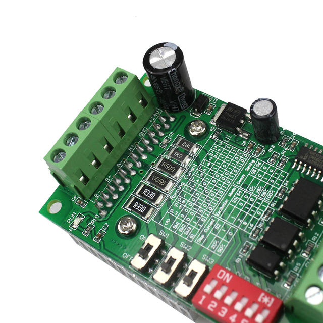 TB6560 3A Stepper Motor Driver Expansion Development Board Axis Current Controller 10 Files TB6560AHQ