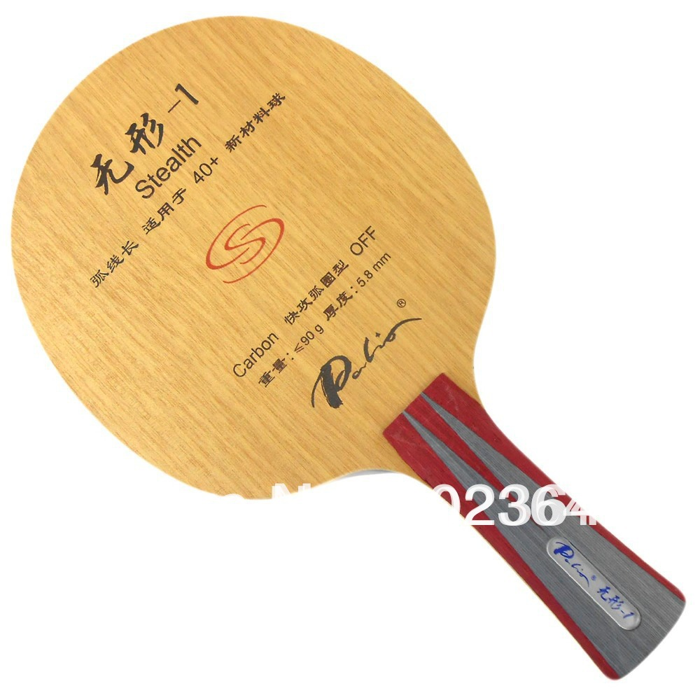 цена  Palio Stealth-1 (Stealth1, Stealth 1) 5Wooden + 2Carbon, Attack+Loop, OFF Table Tennis Blade for Ping Pong Racket  онлайн в 2017 году