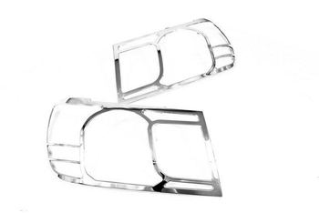 Hoge Kwaliteit Chrome Head Light Cover voor Toyota Land Cruiser FJ100 06-09 Gratis Verzending