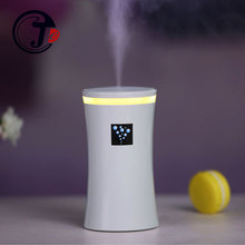 Anion Air Humidifier for Home Car Aroma Essential Oil Diffuser Aromatherapy Air Freshener with LED Light