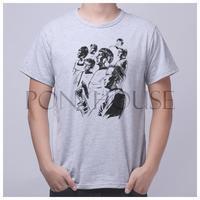 PPZ STAR TREK 29896 Short Sleeve T Shirt Breathable Lycra Cotton Fashion Brand Men T Shirt