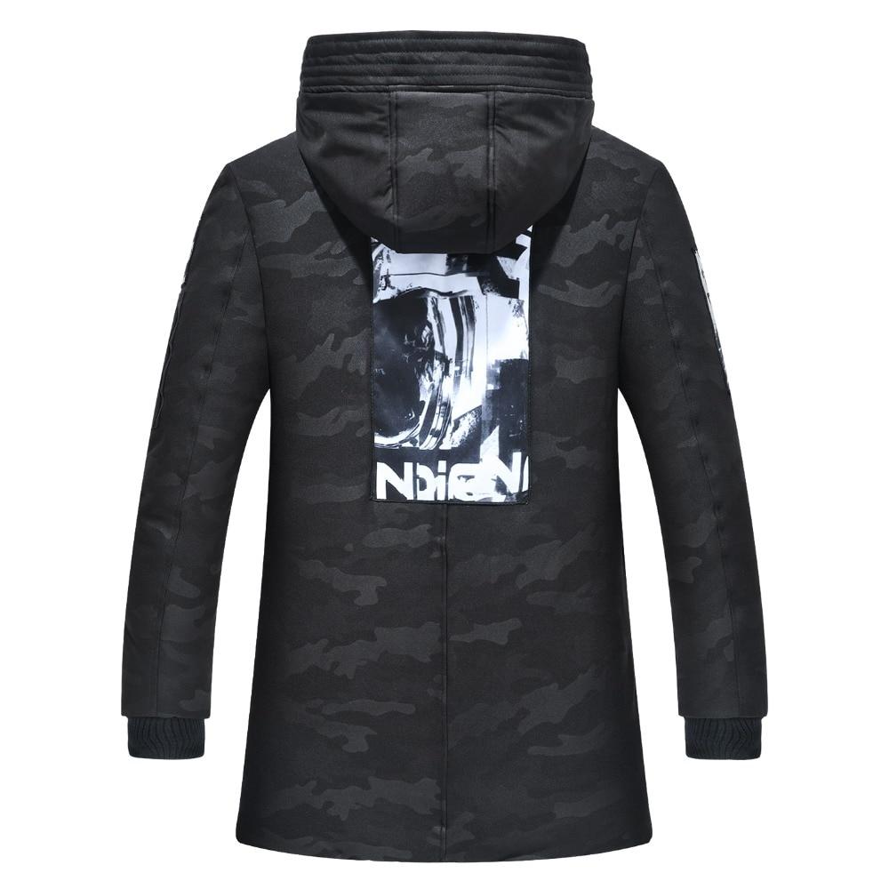 Chaqueta de invierno talla grande 4XL 9XL chaqueta de invierno para hombre abrigo suave para hombre chaqueta barata de plumón con capucha rompevientos chaqueta fría de nieve WU74-in Parkas from Ropa de hombre    3