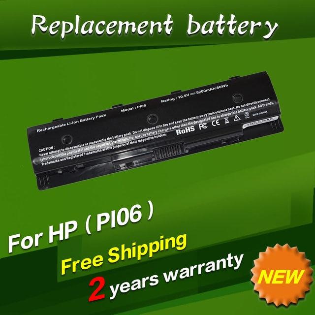 JIGU 10.8V 5200MAH New Laptop Battey For HP Pavilion14 Pavilion 15 Batteries PI06 PI09 HSTNN-UB4N 710416-001 Free shipping