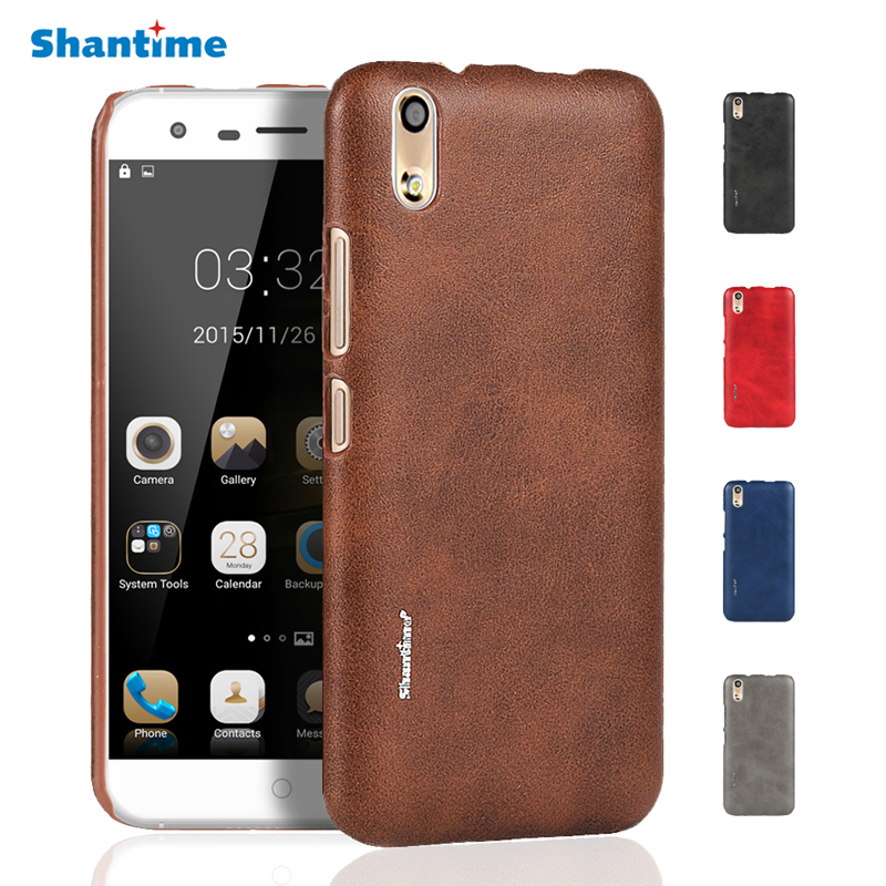 New Vintage Leather Phone Case For ULEFONE PARIS Ultra thin Protective Back Cover For Ulefone 5.0Inch Case