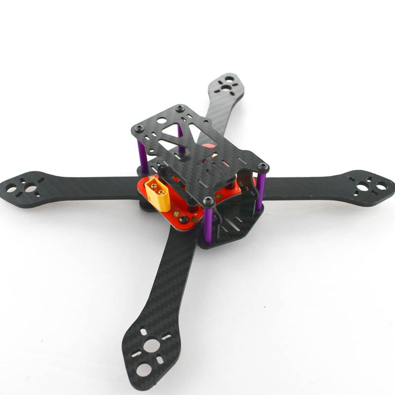Martian V3 220  FPV Drone Racing Carbon Fiber 4mm Replacement Arm Frame kit Better than QAV R 220 260 ZMR250 QAV250