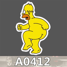 A0412 Anime Punk Cool Sticker for Car Laptop Luggage Fridge Skateboard Graffiti Notebook Scrapbook Bicycle Stickers Decal Toy