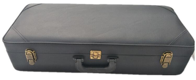 Soprano / Alto / Tenor Saxophone Leather Handbag Case pattern thicken waterproof soprano concert tenor ukulele bag case backpack 21 23 24 26 inch ukelele accessories guitar parts gig