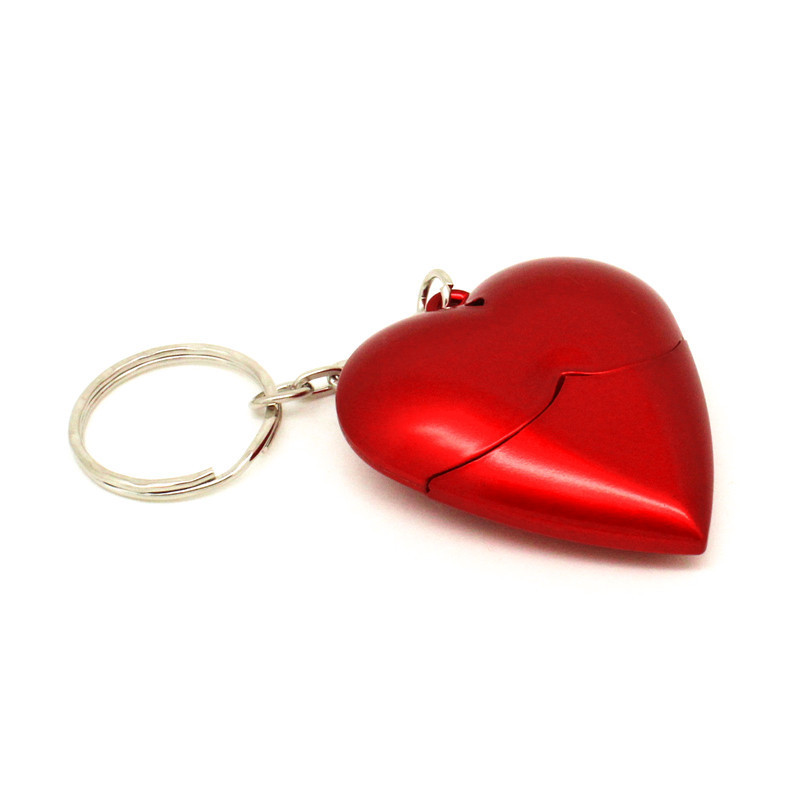 Red Heart Plastic Model 4GB 8GB Pendrive16GB 32GB 64GB Pen Drive USB Flash Drive 128M Creative Love Gift Memory Stick