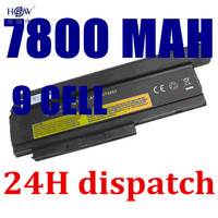 9CELL 7800MAH Laptop Battery For Lenovo ThinkPad X220 X220i 0A36282 42T4875 ASM 42T4862 FRU 42T4863