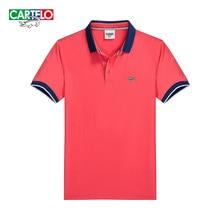 Cartelo marke neue 2016 sommer männer kurzarm t-shirt herren business männer polo shirt slim britischen stil
