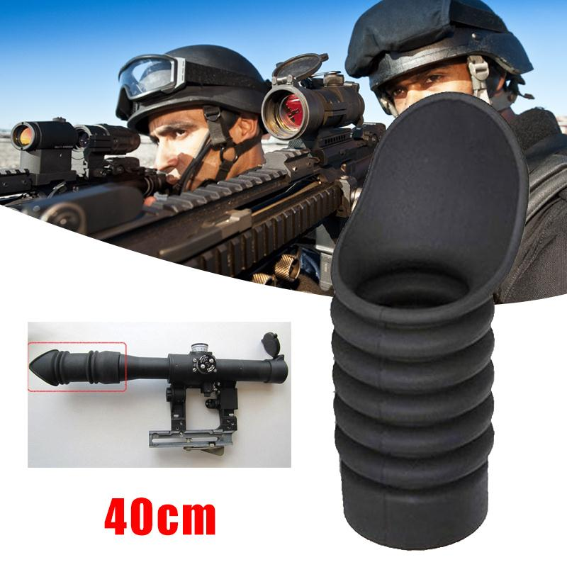 Hunting Accessories 40mm soft Eye Protector Cover Telescope Sight Rubber Cover Oblique Caliber Gadget Rifle Scope telescope