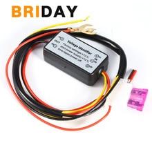 1 шт. DRL контроллер авто светодиодный дневные ходовые огни контроллер Реле Жгут диммер ВКЛ/ВЫКЛ 12-18 в противотуманные фары контроллер