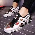 Весна Люксовый Бренд Дышащей Печати Тапки Обувь Y-3 Мода шнуровкой Мужчины Бег Блейд Обувь Zapatillas deportivas hombre