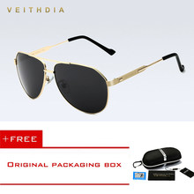 9f948b1c07 VEITHDIA Brand Best Mens Sunglasses Polarized Mirror Lens Driving Eyewear  Accessories Driving Sun Glasses For Men shades For men